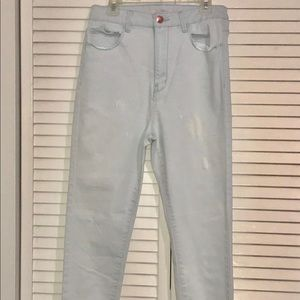 Forever 21 Luxe Light Blue Jeans Size 27